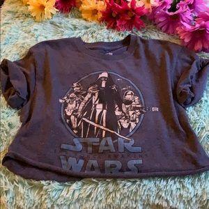 Tops - 5 for 20❗️❗️ Vintage Star Wars crop top